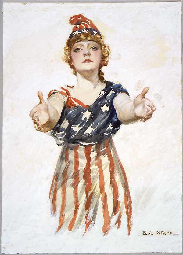 patriotic poster from World War I