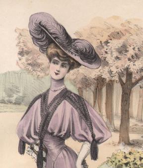 1903 french fashion image