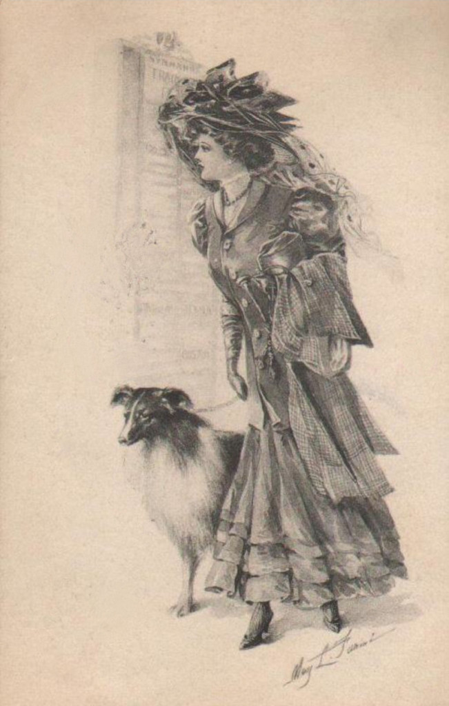 Lady-with-Collie