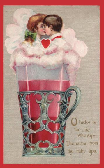 Vintage Valenting Postcard