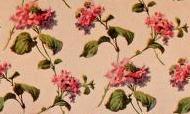 repeating rose pattern - original
