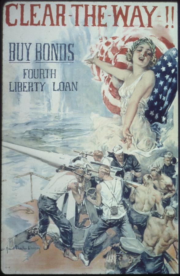 World War I Liberty Bond Poster
