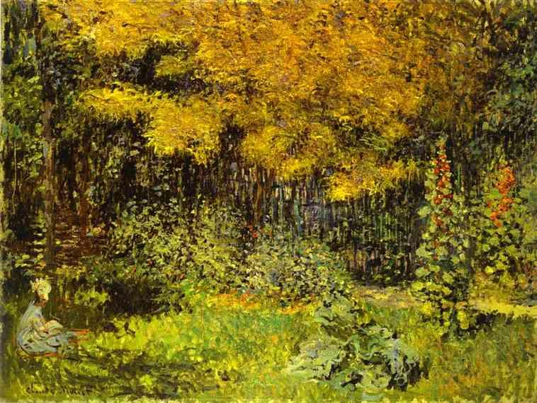 Claude Monet - The Garden. (Le Jardin)