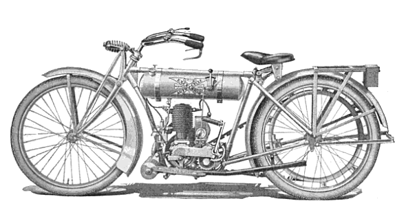 vintage motorcycle image the excelsior lightweight
