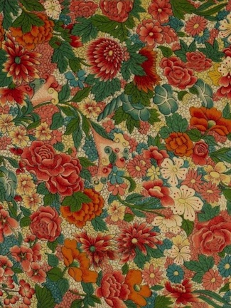 Chinese Flower Print