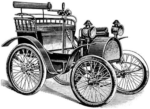 Renault Voiturette vintage transportation image