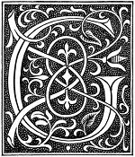 medieval letter g image