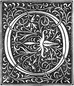 medieval letter o