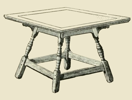 woode-table