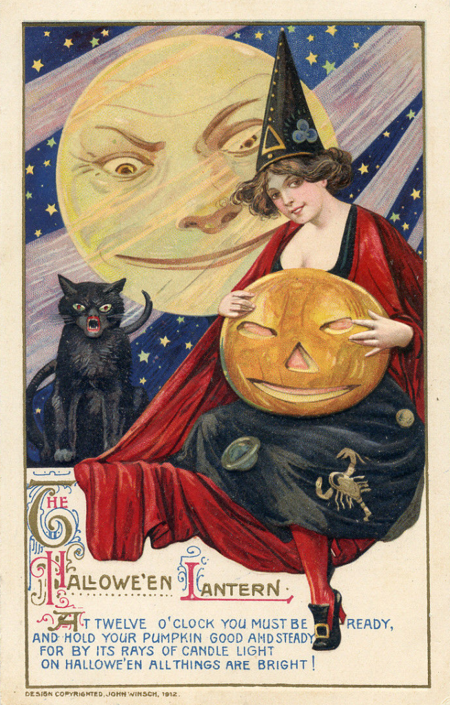 Beautiful Halloween Witch by John Winsch