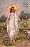 Jesus has Risen vintage postcard