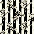 vintage rose stripes wallpaper