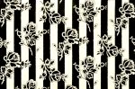 vintage rose stripes wallpaper